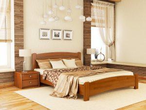 Кровать Венеция Люкс (щит) - ольха (105)