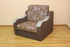 Кресло-кровать Адель (ткань сирен и однотон)