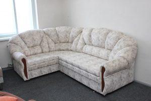 Угловой диван Алиса (ткань Индиана беж)