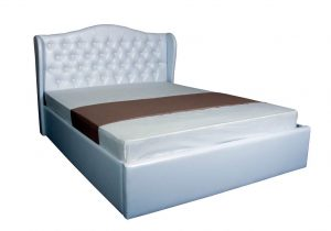 Двуспальная кровать Грейс с подъемным механизмом - с матрасом